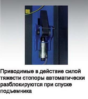 Подъемник автомобильный гидравлический с верхней электронной связью 4т HL III 4.0